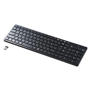 ワイヤレスキーボード アイソレーション テンキー付き ブラック(SKB-WL26BK)(即納)|sanwadirect