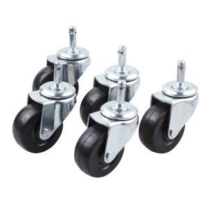 SNC-RD1用ゴムキャスター(5個入)床にキズのつきにくいゴム製のキャスター 学習チェア 回転(即納)|sanwadirect