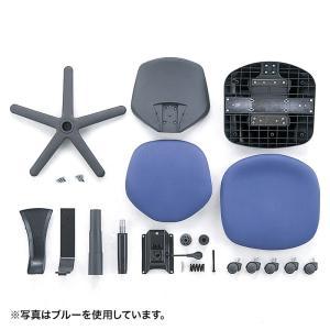 エコオフィスチェアー グレー 環境に優しい素材を使ったロングライフ設計 sanwadirect 05