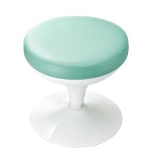 メディカルスツール 丸椅子タイプ 上下昇降 グリーン(SNC-RD6VG) sanwadirect 04