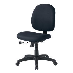 背もたれ、座面の大きいゆったりタイプで長時間のパソコン作業でも疲れにくいチェア 学習チェア 回転 オフィスチェア 黒椅子|sanwadirect