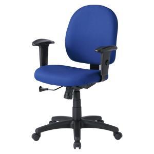パソコン用オフィスチェア 肘あて付き 長時間のパソコン作業でも疲れにくいチェア(即納)|sanwadirect