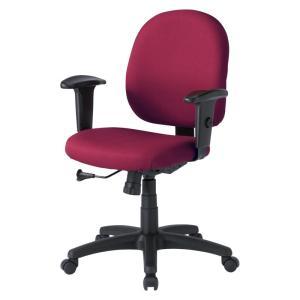 パソコン用オフィスチェア 肘あて付き 長時間のパソコン作業でも疲れにくいチェア|sanwadirect