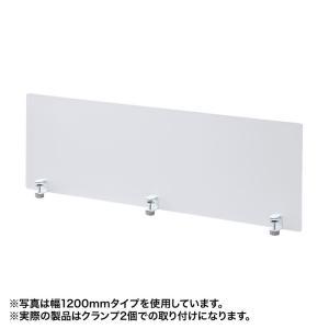 デスクトップパネル クランプ式 W600×D55×H410mm(SPT-DP60)(即納)|sanwadirect