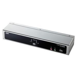 デュアルリンクDVI対応パソコン自動切替器 2:1(SW-KVM2HDCN)|sanwadirect