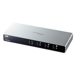 パソコン自動切替器 4:1 PS/2 USB(SW-KVM4LXN)(即納)|sanwadirect