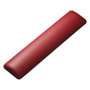 キーボード用リストレスト レザー調素材、レッド(TOK-GELPNLR)(即納) sanwadirect