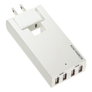 コンセント付USB充電器 スイング 4ポート 4A ホワイト(TR-AD3USBW)(即納)|sanwadirect|10