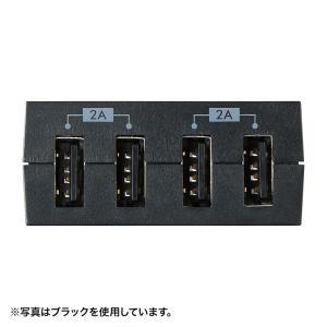 コンセント付USB充電器 スイング 4ポート 4A ホワイト(TR-AD3USBW)(即納)|sanwadirect|03