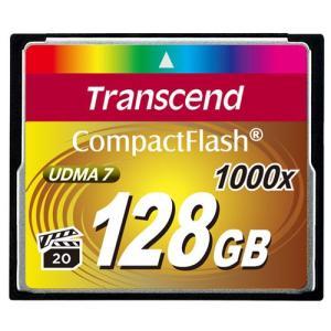 コンパクトフラッシュカード 128GB CFカード 1000倍速 Transcend社製 TS128GCF1000 5年保証|sanwadirect|02