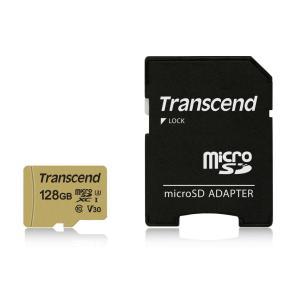 microSDカード マイクロSD 128GB Class10 UHS-I V30 TS128GUSD500S(即納)|sanwadirect