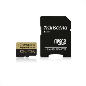 microSDXCカード 128GB マイクロSD Class10 ドライブレコーダー向け SDカード変換アダプタ付 TS128GUSDXC10V(即納)|sanwadirect