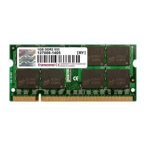 Transcend ノートPC用増設メモリ 1GB DDR2-533 PC2-4200 SO-DIMM トランセンド 永久保証(TS128MSQ64V5J)|sanwadirect|04
