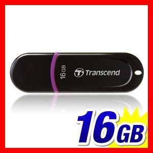 USBメモリ 16GB USBメモリー Transcend 300 5年保証(TS16GJF300)(即納)|sanwadirect