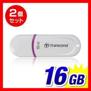 USBメモリ16GB Transcend JetFlash 330 16GB 2個セット 5年保証(TS16GJF330)(即納)|sanwadirect