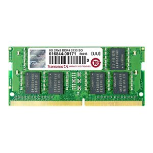 Transcend ノートPC用増設メモリ 8GB DDR4-2133 PC4-17000 SO-DIMM TS1GSH64V1H|sanwadirect