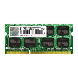 Transcend ノートPC用増設メモリ 8GB DDR3-1333 PC3-10600 SO-DIMM トランセンド 永久保証(TS1GSK64V3H)|sanwadirect