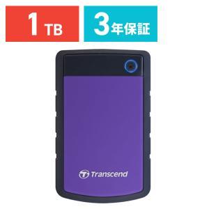 外付け HDD 1TB ポータブル ハードディスク トランセンド|sanwadirect