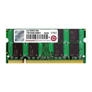 増設メモリ ノートPC用 2GB DDR2-800 PC2-6400 SO-DIMM TS256MSQ64V8U|sanwadirect