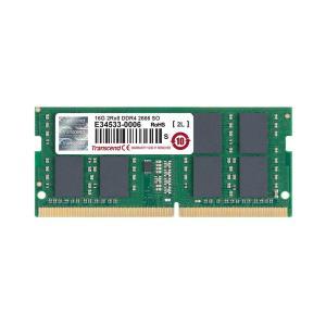 増設メモリ ノートPC用 16GB DDR4-2666 PC4-21300 SO-DIMM TS2GSH64V6B Transcend|sanwadirect