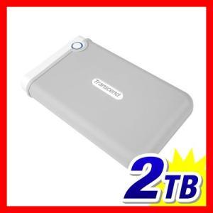 外付け HDD 2TB ポータブル ハードディスク トランセンド|sanwadirect