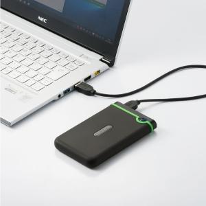 ポータブルHDD 500GB 耐衝撃 USB3.1 2.5インチ スリム TS500GSJ25M3S|sanwadirect|11