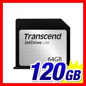 トランセンド Macbook Air専用ストレージ拡張カード 64GB TS64GJDL130 JetDrive Lite 130 5年保証|sanwadirect