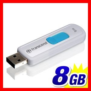 USBメモリ 8GB スライドコネクタ Transcend 永久保証(TS8GJF530)|sanwadirect|05