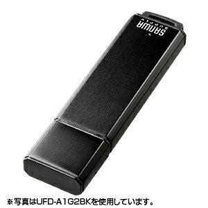 USBメモリ 4GB オリジナル ノベルティに USB メモリー ブラック(4G)(UFD-A4G2BKK)|sanwadirect|02