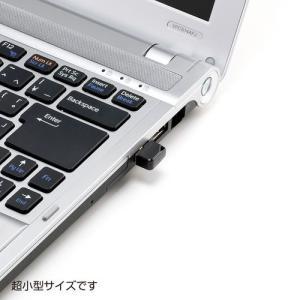 超小型USBメモリ 8GB USB2.0 ブラック(UFD-P8GBK)|sanwadirect|02