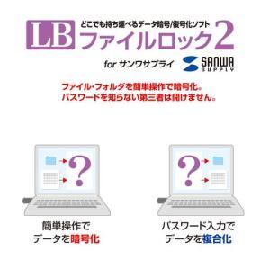 超小型USBメモリ 8GB USB2.0 ブラック(UFD-P8GBK)|sanwadirect|04