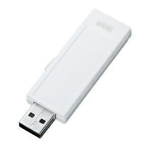 USBメモリ 16GB オリジナル ノベルティに USB メモリー メモ、ストラップ対応(16G)(UFD-RNS16GW)(即納)|sanwadirect|02