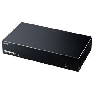 AVエクステンダー 送信機 2分配(VGA-EXAVL2)(即納)|sanwadirect