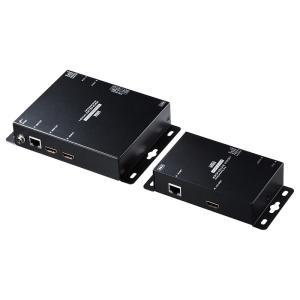 PoE対応HDMIエクステンダー セットモデル(VGA-EXHDPOE2)(即納)|sanwadirect