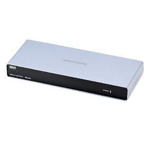 分配器 ディスプレイ分配器 高性能 IC制御化により大幅にノイズを低減(4分配)(VGA-SP4)(即納)|sanwadirect