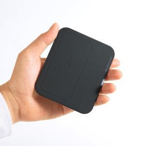 ワイヤレス充電パッド Qi準拠 スマホ 置くだけ 充電器 Galaxy S8/S8+対応 (WLC-PAD12BK)(即納)|sanwadirect|06