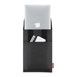 MacBook Air 11インチ用パソコンケース ブラック バッグインバッグ アウトレット わけあり 訳あり(IN-AMAC11BK)
