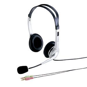 アウトレット ヘッドセット ヘッドホン 両耳タイプ ノイズキャンセルマイク ボリュームコントロール付き アウトレット わけあり 訳ありMM-HS507NC|sanwadirect