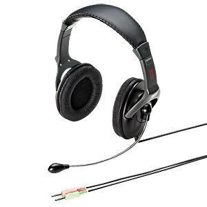 アウトレット ヘッドセット PCヘッドセット 半密閉型 アウトレット わけあり 訳あり(MM-HS514)|sanwadirect