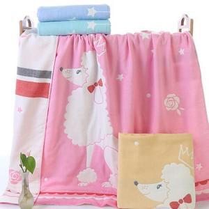 【品名】:ベビー用バスタオル  【素材】:綿100%  【カラー】:全4色  【サイズ】:110*1...