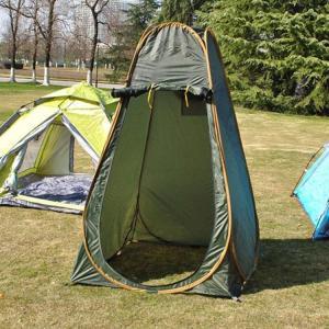 ポップアップテント  ワンタッチテント 着替えテント プライベートテント 簡易シャワールーム トイレテント 防災避難 シェルター 登山 海水浴|sanwafashion