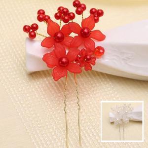 四個セット お嫁さん 髪飾り かんざし 花嫁 レディース ヘアアクセサリー  ウェディング 結婚式 髪留め ヘッドアクセ 結婚式 入学式 sanwafashion
