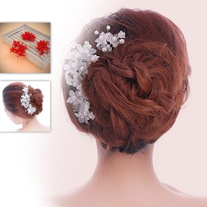 三個セット お嫁さん 髪飾り かんざし 花嫁 レディース ヘアアクセサリー  ウェディング 結婚式 髪留め ヘッドアクセ 結婚式 入学式 sanwafashion
