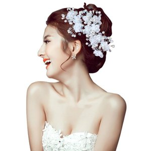 四個セット お嫁さん 髪飾り かんざし 花嫁 レディース ヘアアクセサリー  ウェディング 結婚式 髪留め ヘッドアクセ 結婚式 入学式|sanwafashion