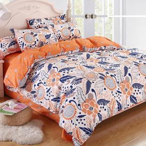 ■商品規格 品名:ベッドカバーセット 素材:綿混紡 季節:春夏秋冬 カラー:A  B  C  D  ...