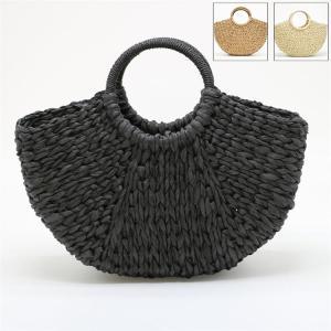 ■品名:カゴバッグ ■素材:麦わら ■カラー:全3色 ■ショルダーベルト:付属しません ■裏地:あり...