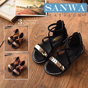サンダル キッズ 女の子 サンダル 子供靴 滑り止め 柔らかい   韓国風   夏物 シューズ 女の子 ビーチサンダル ビーサン kids 靴 girls くつ|sanwafashion