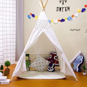 キッズテントハウス 子供用プレイテント 室内屋内 環境にやさしい  キッズテント ベビー 幼児 おもちゃ入れ おままごと 秘密基地 隠れ家 子供部屋 ギフト|sanwafashion