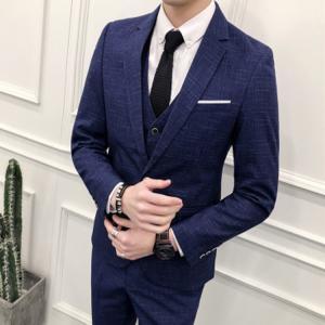 ■品名:メンズスーツ ■素材:表地:ビスコース70%   裏地:ポリエステル ■カラー:全2色 ■サ...