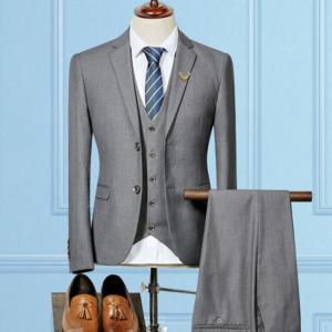 ■品名:メンズスーツ ■素材:表地:ビスコース  裏地:ポリエステル ■カラー:全5色 ■サイズ:S...